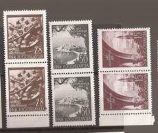1952  704-706   JUGOSLAVIJA JUGOSLAWIEN  KRIEGSMARINE SPLIT  ST. STEFAN    LUX MNH - 1945-1992 Repubblica Socialista Federale Di Jugoslavia