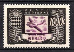 MONACO 1949 PA N° 44  - NEUF** /2 - Poste Aérienne