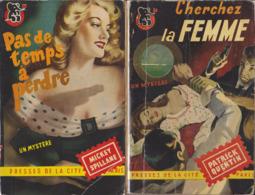 Lot 2: Un Mystère / Presses De La Cité 12 Volumes (1949/1955) - Boeken, Tijdschriften, Stripverhalen