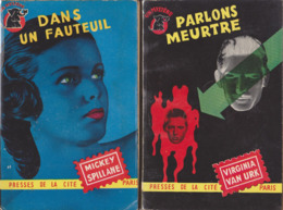 Lot 1: Un Mystère / Presses De La Cité 14 Volumes (1950/1958) - Boeken, Tijdschriften, Stripverhalen