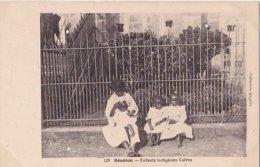 Réunion - Saint-Denis, Enfants Indigènes Cafres - Saint Denis