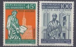 DAHOMEY - 1968 - Serie Completa Formata Da 2 Valori Nuovi: Yvert Posta Aerea 73/74. - Benin – Dahomey (1960-...)