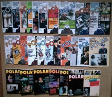 Revue POLAR Coll. Complète 1ère Série Du N°1 Au 21 + N°22 à 28 NéO (EO, 1979/83) - Boeken, Tijdschriften, Stripverhalen