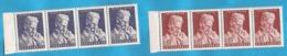 1953  712-13     JUGOSLAVIJA JUGOSLAWIEN  NIKOLA TESLA PHYSIKER-ELEKTROINGENIEUR    LUX MNH - Physics