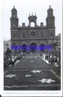 121558 SPAIN ESPAÑA LAS PALMAS DE GRAN CANARIA ALFOMBRAS DEL CORPUS POSTAL POSTCARD - Spain