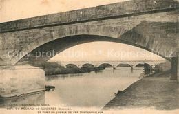 13562120 Saint-Medard-de-Guizieres Pont Du Chemin De Fer Bordeaux Lyon Saint-Med - France
