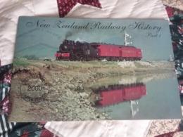 Telecom New Zealand Railway History Part 1 Complete Mint - Nuova Zelanda