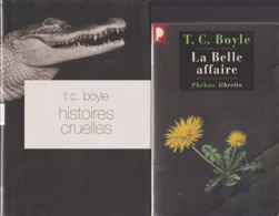 T. C. BOYLE 3 Romans Et Nouvelles (2003/2008) - Boeken, Tijdschriften, Stripverhalen