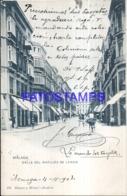 121585 SPAIN ESPAÑA MALAGA ANDALUCIA STREET CALLE DEL MARQUES DE LARIOS POSTAL POSTCARD - Spain