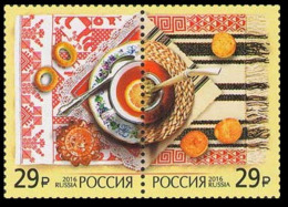 2016Russia 2383-84PaarJoint Issue Of Russia And Argentina 5,50 € - Argentinien