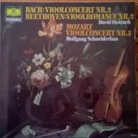 * LP * BACH: VIOOLCONCERT Nr.2 / BEETHOVEN: VIOOLROMANCE Nr.2 / MOZART: VIOOLCONCERT Nr. 5 - Klassik