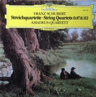 * LP *  SCHUBERT - STRING QUARTETS D.87 & 112 - AMADEUS-QUARTET (Germany 1981 NM!!!) - Klassik