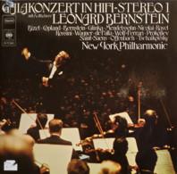 * 2LP *  GALACONCERT IN HIFI-STEREO 1 - LEONARD BERNSTEIN / NEW YORK PHILHARMONIC - Klassiekers