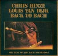 * LP *  CHRIS HINZE & LOUIS VAN DIJK: BACK TO BACH - Klassiekers