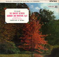 * LP *   VIVALDI: THE CONTEST BETWEEN HARMONY AND INVENTION Op.8 (The 4 Seasons) - VIRTUOSI DI ROMA - Klassiekers