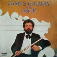 * LP *  JAMES GALWAY PLAYS BACH (Italy 1978 EX!!!) - Klassiekers