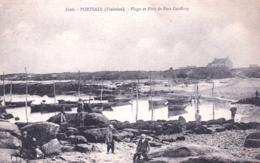 29 - Finistere -  PORTSALL - Plage Et Port De Port Geoffroy - France