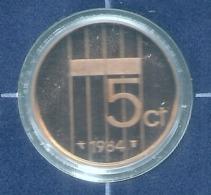1984 * 5 Cent  Uit PROOF-SET  * NEDERLAND * - [ 3] 1815-…: Königreich Der Niederlande