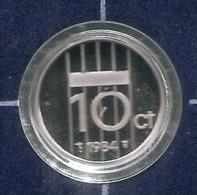 1984 * 10 Cent  Uit PROOF-SET  * NEDERLAND * - 1980-…: Beatrix