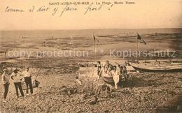 13580179 Saint-Aubin-sur-Mer_Calvados La Plage Maree Basse Saint-Aubin-sur-Mer - Francia