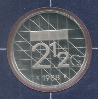 1988 * 2,5 Gulden  Uit PROOF-SET  * NEDERLAND * - 1980-…: Beatrix