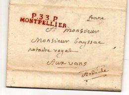 H978 LAC Herault Montpellier PP 1819  Tres Belle Frappe - 1801-1848: Precursors XIX