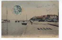 33 - BLAYE - La Gare De L'Etat Et Les Bords De La Gironde - Bateau - 1905  (X183) - Blaye