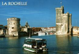 La Rochelle L'entrée Du Vieux Port Gardé Par Les Tours De La Chaine Saint Nicolas 2006  CPM Ou CPSM - La Rochelle