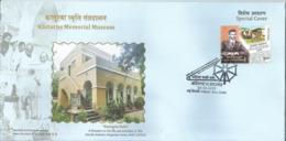 """Special Cover, Gandhiji  & Kasturba, Kasturba Kutir, Kasturba Museum, """"Ba"""" Gandhi Ashram.As Per Scan - Mahatma Gandhi"""