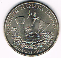 "¼ Dollar ""Washington Quarter"" Northern Mariana Islands, 2009, UNC - 1999-2009: State Quarters"