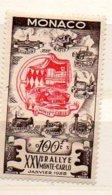 Mon137 25e Rallye  1955  N° 420 *  Cote 63 Euros En 2008 - Monaco