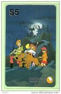 Australia - PacificNet - 1995 Scooby-Doo $5 - Mint - Australia