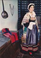 Costumes Pyrénéens - Bigorre N°6 - Jeune Fille De Barèges-en-Lavedan En Costume De Cérémonie Vers 1820 - Midi-Pyrénées