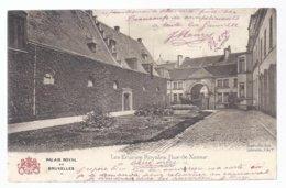 1905 PALAIS ROYAL DE BRUXELLES - LES ECURIES ROYALES RUE DE NAMUR - Monumenti, Edifici