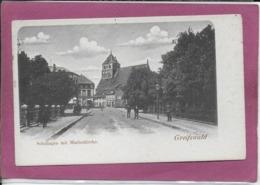 GREIFSWALD Schuhagen Mit Marienkirche - Greifswald