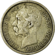 Danish West Indies, Christian IX, 10 Cents, 50 Bit, 1905, Copenhagen, TTB, Ar... - Antilles