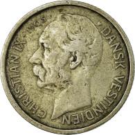 Danish West Indies, Christian IX, 10 Cents, 50 Bit, 1905, Copenhagen, TTB, Ar... - West Indies