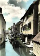 CPSM Grand Format  MONTARGIS  (Loiret) Vue Sur Le Loing Maisons Bord De L'eau   Colorisée RV Edit MAGE - Montargis