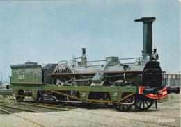 Mulhouse - Musée Français Du Chemin De Fer - Locomotive Crampton N°80 'Le Continent' - Paris à Strasbourg 1852 - Trains