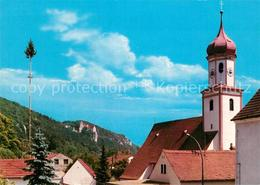 73574843 Prunn_Altmuehl Expositurkirche Mit Burg In Schlossprunn Prunn Altmuehl - Ohne Zuordnung