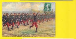 En Avant, A La Baionnette, L'infanterie Henri Le Pointe (Oilette) - Patriotic
