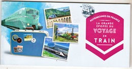 France  999 1010 Voyages En Train Carnet Autoadhésifs Neuf ** TB MNH Faciale 15.36 - Sellos Autoadhesivos