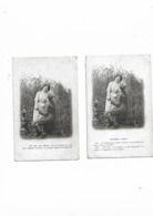 Cartes Anciennes De Série 2 Cartes Tendres Aveux - Fantaisies
