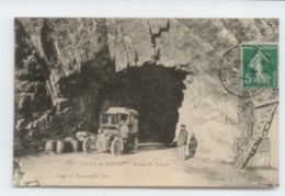 CPA 1914 DROME COL ROUSSET GROS PLAN ANIME VOITURE AUTOMOBILE TBE - Francia