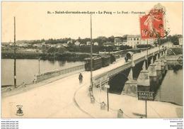 78 SAINT GERMAIN EN LAYE. Le Pont. Le Pecq 1919 - St. Germain En Laye