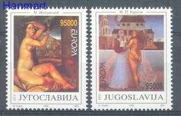 Yugoslavia 1993 Mi 2603-2604 MNH ( ZE2 YUG2603-2604 ) - Nus