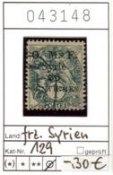 Franz. Syrien - Michel 129 - Oo Oblit. Used Gebruikt - Syrien (1919-1945)