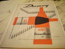 ANCIENNE PUBLICITE VIN JULIEN DAMOY 1961 - Alcohols