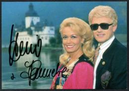 C8771 - Heino Und Hannelore -  Autogrammkarte - Handtekening