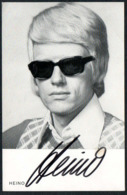 C8772 - Heino - Orig Autogrammkarte Autogramm - Autographes